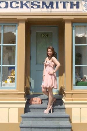 Forever 21 dress - Parisian purse - Forever 21 heels - Michael Kors watch