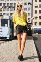 light yellow romwe sweater