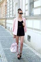 light pink Forever 21 blazer - light pink Alexander Wang bag