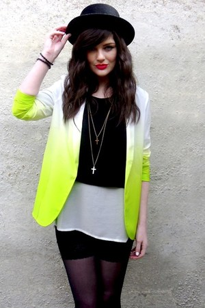 yellow asos jacket
