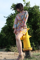 Zara dress - Marni shoes - vintage belt