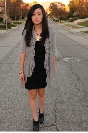 Forever21 sweater - Wolford dress - Stella McCartney shoes