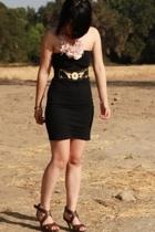 Zara shoes - American Apparel dress - vintage belt - Twigs&Honey accessories