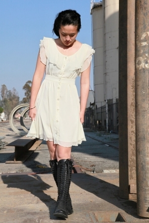 jovovich hawk for target dress - Ann D shoes