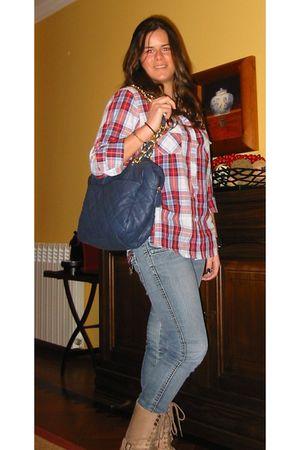 pull&bear purse - Zara shirt
