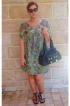 Burberry sandals - Origami Doll dress - Fiippo Raphael bag