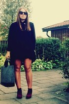 Zara bag - Din Sko shoes - GINA TRICOT shirt - Zara shorts - H&M sunglasses