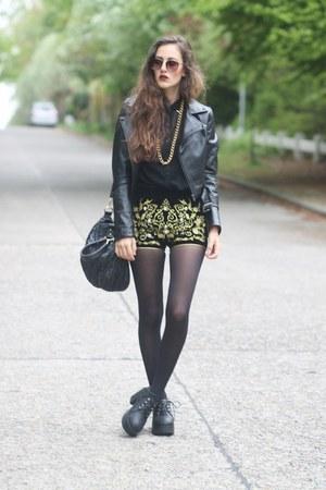 chunky Sheinsidecom boots - Sammydresscom shorts