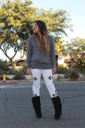 Old Navy sweater - Nordstrom Rack boots