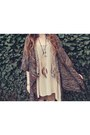 Tan-club-couture-dress-beige-durango-boots-brown-macys-sweater