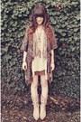 Beige-durango-boots-tan-club-couture-dress-brown-macys-sweater