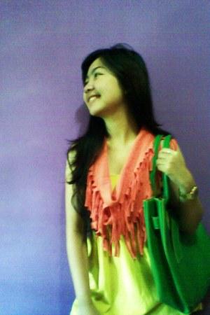 Misyelle bag - Sister scarf