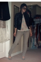 Xhileration jacket - Forever21 blouse - jeans