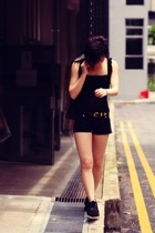 Urban&Co top - H&M shorts - Iora blazer - Keds shoes - Dolce Donna belt