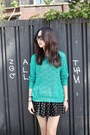 Turquoise-blue-filthy-magic-sweater