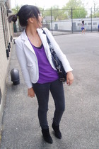 blazer - pants - top - shoes - accessories