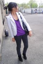 blazer - pants - top - shoes - accessories