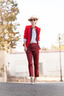 Red-marc-by-marc-jacobs-blazer-red-fall-blazer-blazer