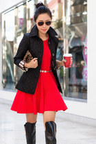 Burberry jacket - Parker dress