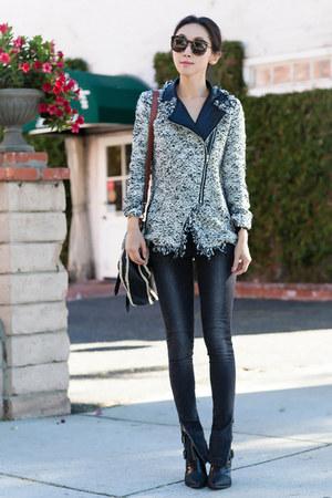 Fall jacket - Ella Moss jacket - Tibi boots - Anine Bing jeans