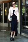 T-by-alexander-wang-dress-zara-jacket