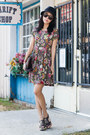 Anthropologie-dress-sam-lavi-dress-anthropologie-hat-brown-bag