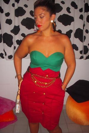 Ebay skirt - Rampage top