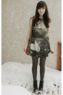 Black-aldo-boots-dark-gray-el-studio-london-dress-brown-forever-21-bag