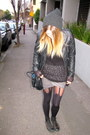 Black-leather-biker-hot-options-jacket