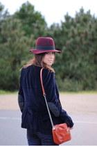 H&M hat - Zara blazer