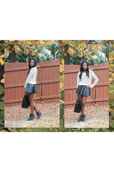 H&M skirt - Forever 21 jumper