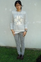 Ralph Lauren sweater - Target top - vanilla star jeans - Cole Haan shoes - Ebay