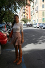 Brown-patrizia-pepe-boots-pink-market-in-rome-skirt-white-american-eagle-t-s