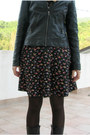 Black-lace-up-zara-boots-ruby-red-floral-dorothy-perkins-dress