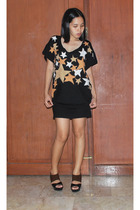 Lafer sweater dress - Charles and Keith shoes