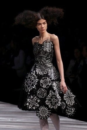 Alexander McQueen dress