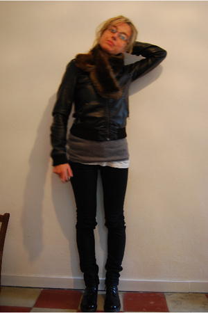 Cheap Monday jeans - H&M jacket