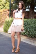 Forever 21 skirt - Zara top