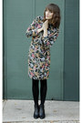 Thrifted-vintage-cape-gifted-boots-floral-print-vintage-dress