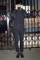 Orthodox sweater - Rick Owens top - Vroom top - cheap mondays jeans - Fiorentini