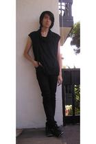Diet Butcher Slim Skin top - Cheap Monday jeans - Gram shoes