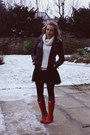 Hunter-boots-zara-jacket-primark-jumper
