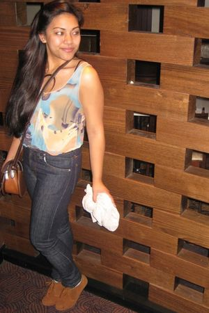 kenji top - Nudie jeans - Tokito cardigan - Zanotti boots -