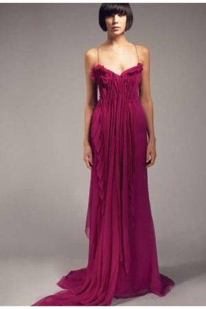 Vicente Villarin dress