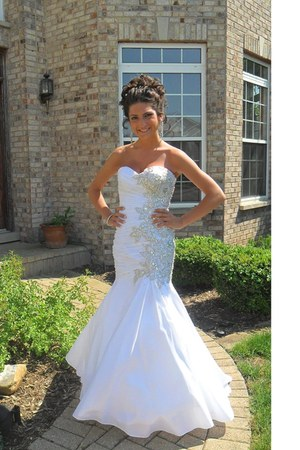 mermaid tony bowls dress