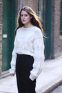 White-white-knit-stephan-schneider-sweater-black-jil-sander-pants-white-buck