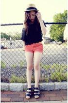BDG shorts - crochet top - Dolce Vita sandals