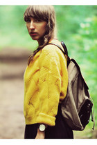 yellow Vero Moda sweater