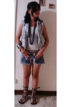 vest - shorts - shoes - accessories