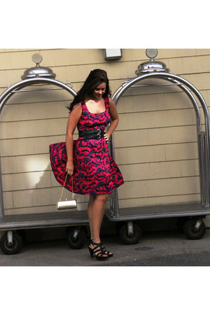 Marc Jacobs dress - Nine West shoes - Aldo purse